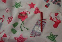 Karácsony / Karácsonyi anyagok, kellékek