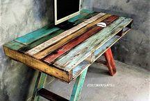 Мебель из дерева (паллет)