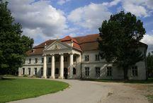 Niedźwiedź - Pałac / Pałac w Niedźwiedziu wzniesiony w 1800 r. dla rodziny Wodzickich. Obecnie - szkoła.