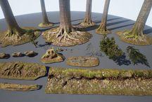 3D ландшафты