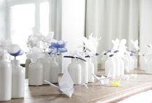 """Mariage """"Origami"""" / Une mariage sur le thème de la fraicheur, la simplicité et l'élégance avec une décoration de papier, tout en légèreté."""