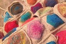Knitting, Sewing, Craft / Pop blanket