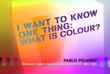 Inspirational Colour Quotes / Awesome quote about colour...