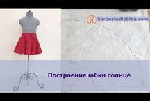 strihy sukne