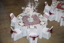 Classic and Timeless wedding table settings / Classic and Timeless wedding table settings