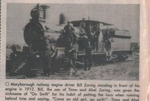 Railways of Maryborough & District (including special event trains)