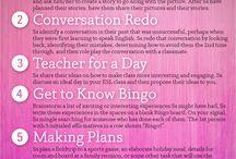 Conversation activities