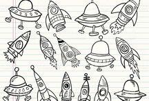 DOODLES - Space