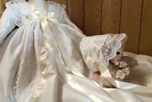 Girls Christening Gowns / A selection of beautiful, handmade christening gowns for girls.