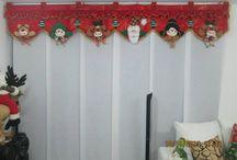 cortinas de navidad