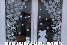 výzdoba do oken
