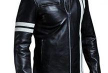 Mens bikers leather jacket