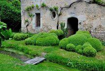 Jardins / buis sculptés
