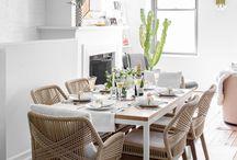 DINING ROOM / #salle #à #manger #dining #room #salleàmanger #repas #déco #table #decor #home #design #scandinave