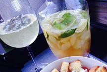 Bowle und Cocktails