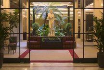 Hotel & services / Hotel dei Borgognoni Rome - Hotel hall and common spaces, services, architecture