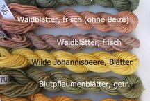 Wolle, Filzen, Färben