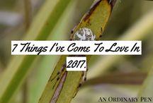 {An Ordinary Pen Blog}