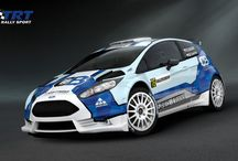 TRT Rally Team (Ford Fiesta R5) / Design and wrap.