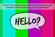 """Hello / Hello?' is a satire on the modes of communication we have been exposing ourselves to, since cradle. We're adapting the fast pace of life and acting as a pantomime artists on these platforms, preferring this over our individuality. But the basic premise is, are we really able to express our hearts through this virtue arena? Or, Is this social platform enabling us to acquaint the reality of life to its fullest?"""""""