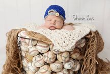 Inspiration:  Baseball - Newborn