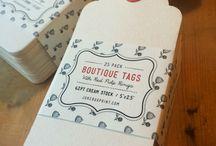 boutique tags