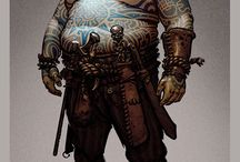 Fantasy Character - Sorcerer / Inspirations guiding to a character concept and costume design