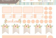 Planner & Stickers - Printable