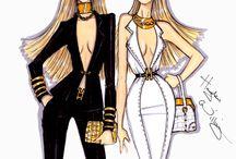 Desenhos/Ilustrações de moda