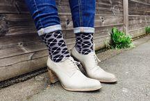 high heels socks takapara / Takapara socks and high heels shoes