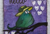 Crazy Birds, Cats and Dogs by Tim Holtz