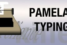 Typing Services / Freelance typist offering services for your project needs. Whether it's a journal or a sermon, look here for details of what's offered: http://www.pamelaspetals.com/typingservicepage2013.html