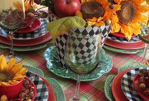 tablescape autumn