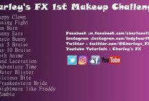 Charley's FX 1st makeup challenge / special effects makeup, gore, halloween makeup, sfx makeup, makeup challenge, sfx.