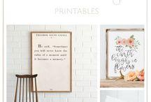 Poster printables