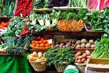 野菜陳列棚