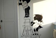 Роспись Стен Спальня