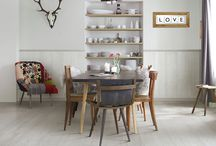 Dining Area Ideas / The dining area is where you enjoy a meal with your family at the end of the stressful day, so it's important to create a stylish space you can enjoy spending time in! From eye-catching feature walls to striking statement floors, here are for decor / decorating ideas for your dining room.