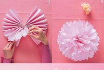 fleurs papier faciles