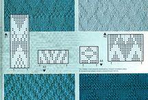 pontos em tricot