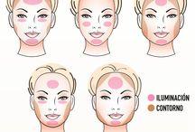 maquillaje..rasgos / Indispensable saber usar esos rasgos a tu favor.. y te veas como de portada de revista.... simplemente con la magia del maquillaje..