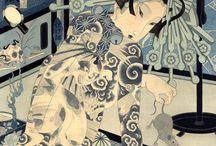 JAPANESE PRINTS & PAINTINGS