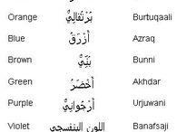 Arapça kelimeler