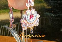 Soutache jewellery-Earrings