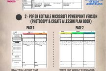 Lesson Plan Templates