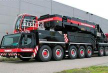 Big Truck's & Excessive load / velké kamiony a nadměrný náklad