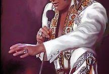 Elvis en peinture