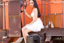 Model Actress Jennifer Linch , Fashion Video by Sophon Stefon Cinematography