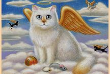 Cat Art - Angels/Fairies / by Kimberly Sherwood