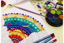Adult colouring / Art